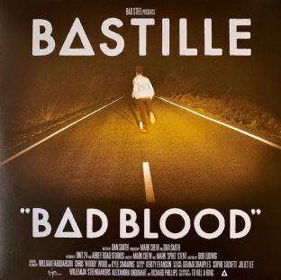 Bastille ‎- Bad Blood (LP) (180g Vinyl) (EX/VG)